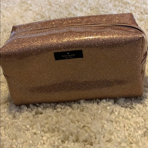 kate spade Handbags - Kate Spade sparkle cosmetic bag